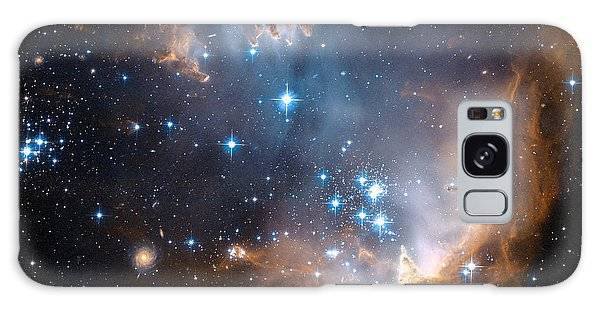 Hubble's View Of N90 Star-forming Region Galaxy Case by Nasa