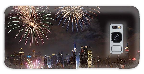 Hudson River Fireworks Iv Galaxy Case