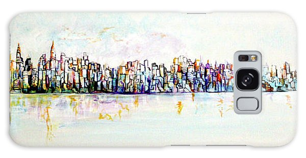 Hudson River View Galaxy Case