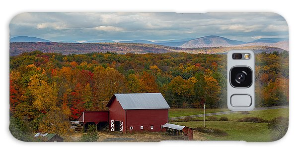 Galaxy Case featuring the photograph Hudson Valley Ny Fall Colors by Susan Candelario