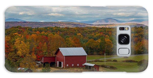 Hudson Valley Ny Fall Colors Galaxy Case