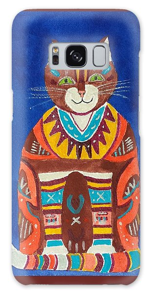 Huey Cat Galaxy Case