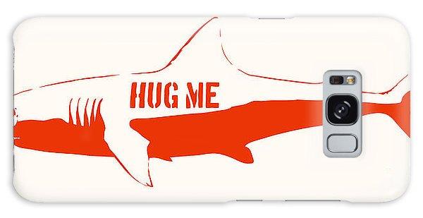 Hug Me Shark Galaxy Case