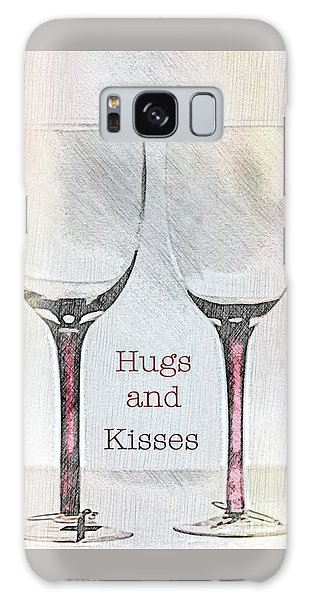 Hugs And Kisses Galaxy Case