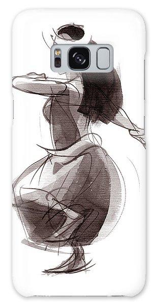 Hula Dancer Olina Galaxy Case