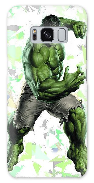Hulk Splash Super Hero Series Galaxy Case