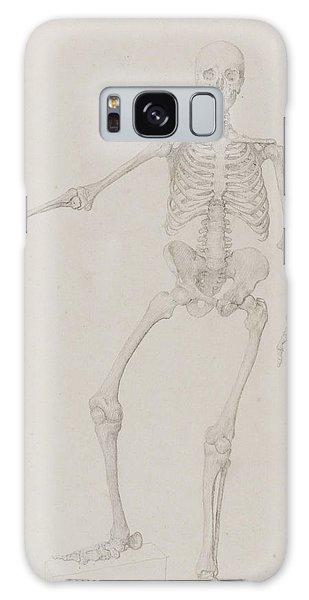 Halloween Galaxy Case - Human Skeleton, Anterior View by George Stubbs