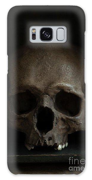 Human Skull Galaxy Case
