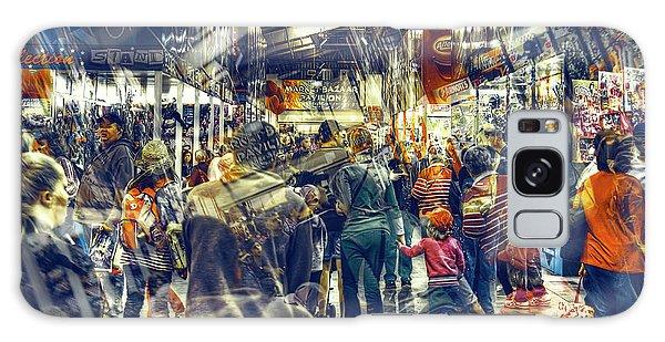 Human Traffic Galaxy Case by Wayne Sherriff