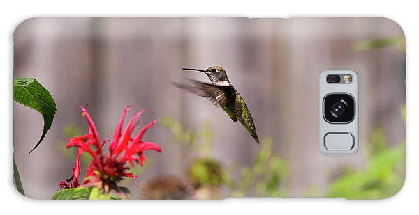 Humming Bird Hovering Galaxy Case