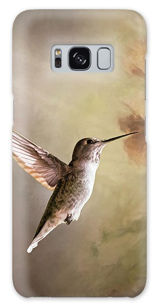 Humming Bird In Light Galaxy Case