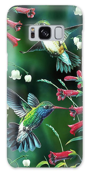 Hummingbird Galaxy S8 Case - Humming Birds 2 by JQ Licensing
