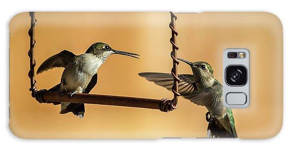 Humming Birds Galaxy Case