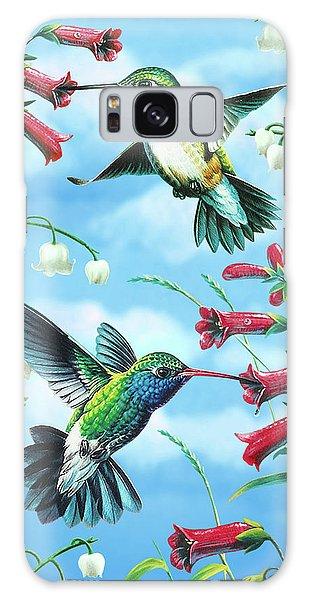 Hummingbird Galaxy S8 Case - Humming Birds by JQ Licensing