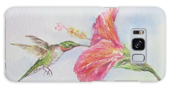 Hummingbird 1 Galaxy Case by Gloria Turner