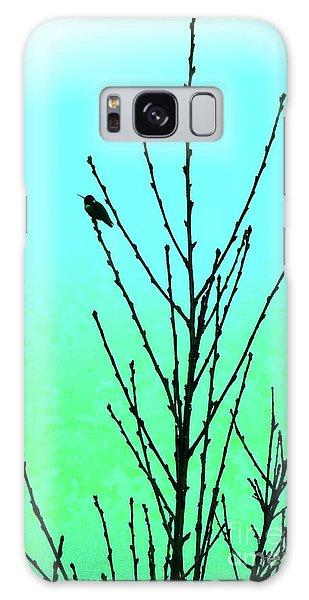 Hummingbird After Rain Galaxy Case