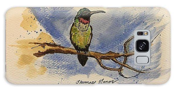 Hummingbird At Rest Galaxy Case