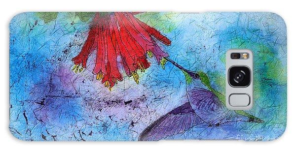 Hummingbird Batik Watercolor Galaxy Case