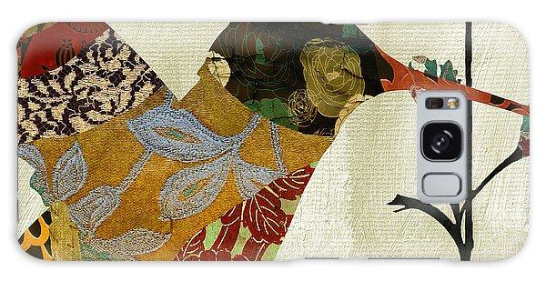 Hummingbird Brocade IIi Galaxy Case by Mindy Sommers