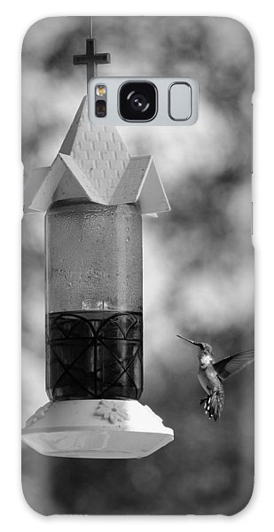 Hummingbird - Bw Galaxy Case