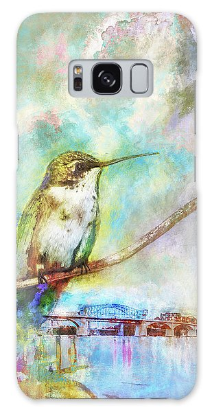 Hummingbird By The Chattanooga Riverfront Galaxy Case
