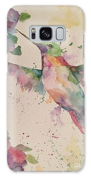 Hummingbird Galaxy Case by Denise Tomasura