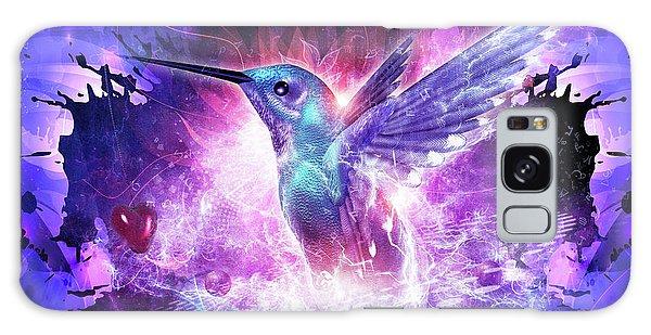 Hummingbird Love Galaxy Case