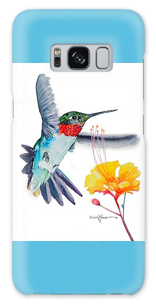 Da169 Hummingbird Flittering Daniel Adams Galaxy Case