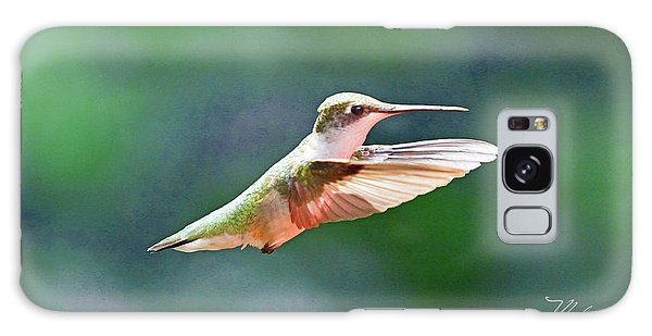 Hummingbird Flying Galaxy Case by Meta Gatschenberger