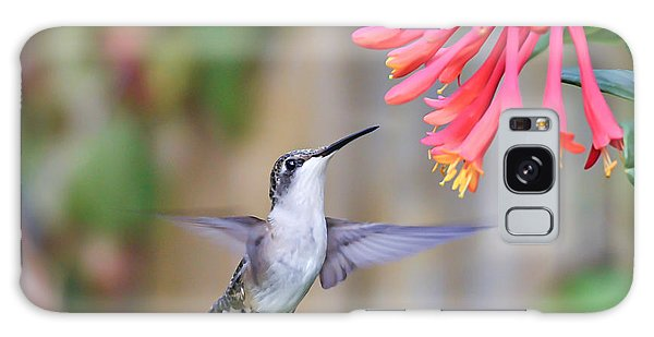 Hummingbird Happiness 2 Galaxy Case