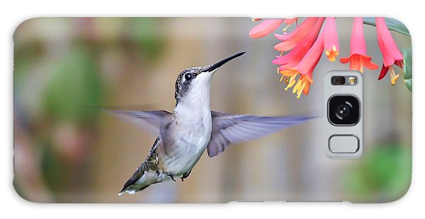 Hummingbird Happiness 2 Galaxy Case by Kerri Farley