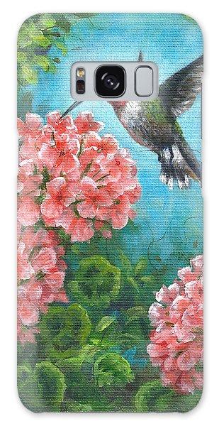 Hummingbird Heaven Galaxy Case