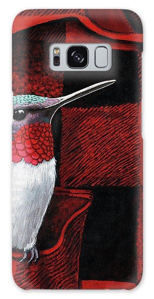 Hummingbird Memories Galaxy Case