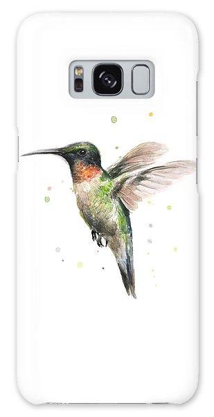 Colorful Galaxy Case - Hummingbird by Olga Shvartsur