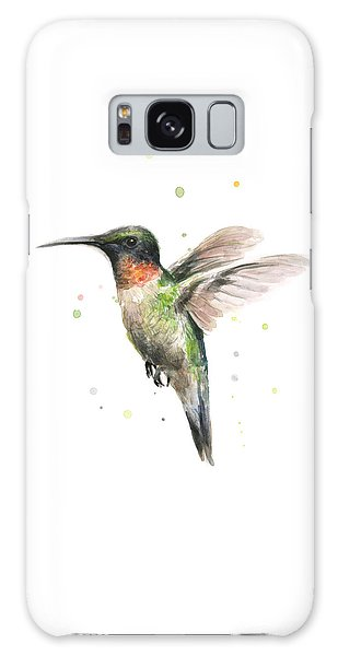 Bird Galaxy Case - Hummingbird by Olga Shvartsur