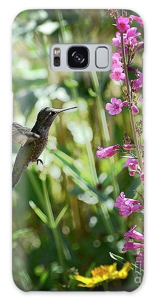 Hummingbird On Perry's Penstemon Galaxy Case
