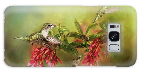 Hummingbird Paradise Galaxy Case