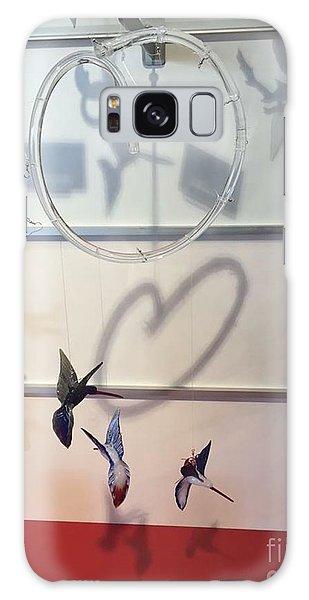 Hummingbird Shadows Galaxy Case