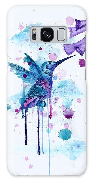 Hummingbird Galaxy S8 Case - Hummingbird Skeleton 2.0 by Ludwig Van Bacon