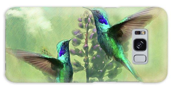 Song Birds Galaxy Case - Hummingbird Song by James Deaton