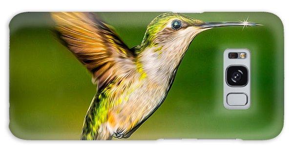 Hummingbird Sparkle Galaxy Case