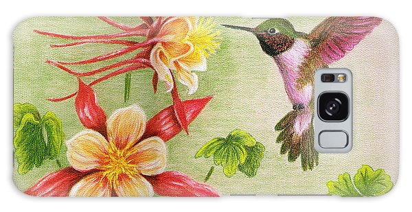 Hummingbird's Delight Galaxy Case