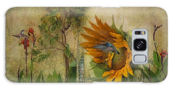 Hummingbirds In My Garden Galaxy Case by John  Kolenberg
