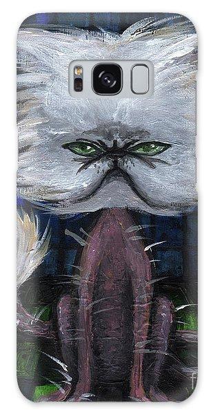 Humorous Cat Galaxy Case