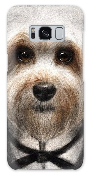 Galaxy Case - Humorous Dressed Dog Painting By by Svetlana Novikova