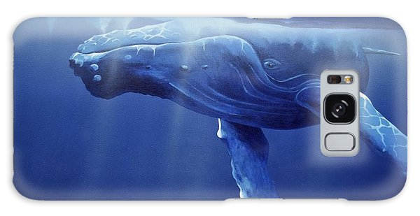 Humpback Portrait Galaxy Case