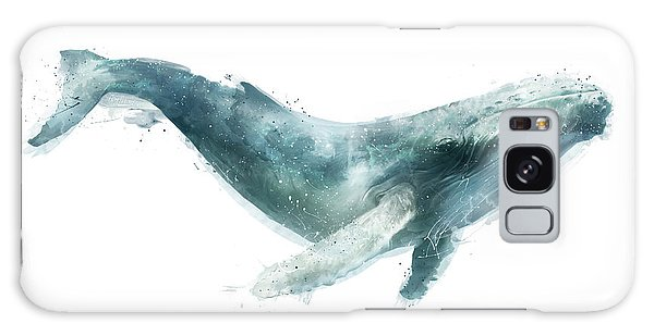 Colour Galaxy Case - Humpback Whale From Whales Chart by Amy Hamilton