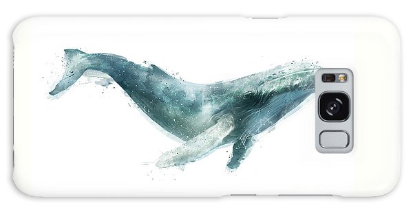 Summer Galaxy Case - Humpback Whale From Whales Chart by Amy Hamilton
