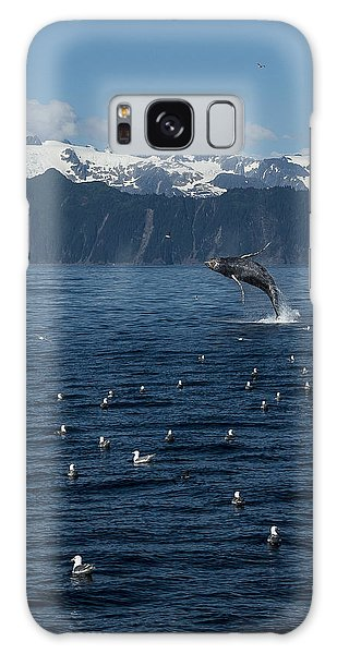 Humpback Whale Breach 3.1. Mp Galaxy Case