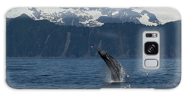 Humpback Whale Breach Seward Galaxy Case